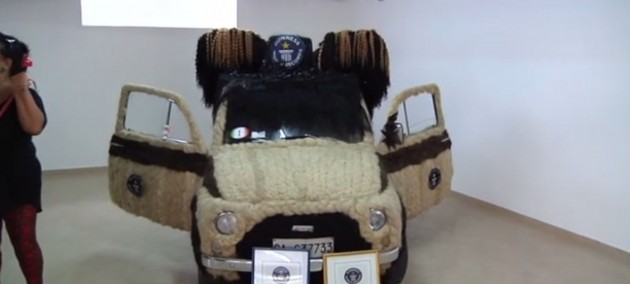 The world's hairiest car
