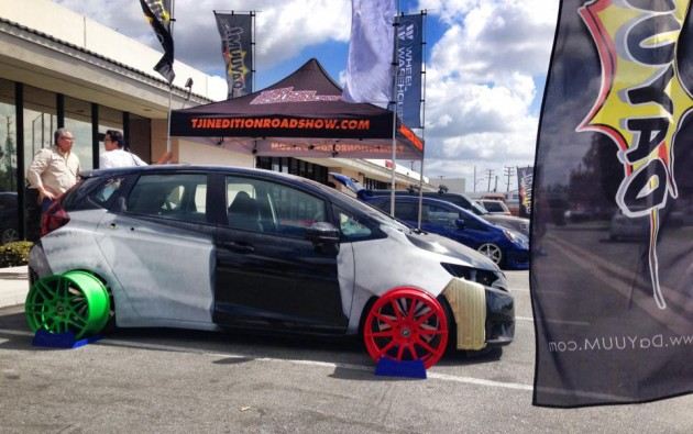 2015 Honda Fit SEMA Project