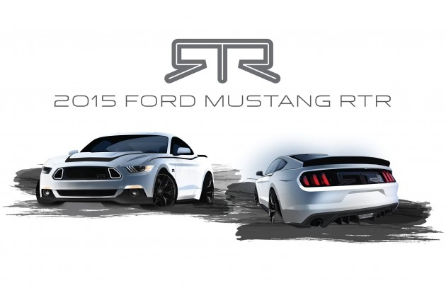 2015 Mustang RTR teased