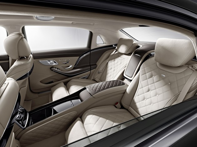 2016 Mercedes-Maybach S 600 teaser images