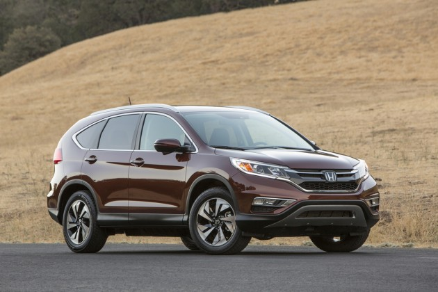 Honda CR-V named a 2015 KBB Best Buy.