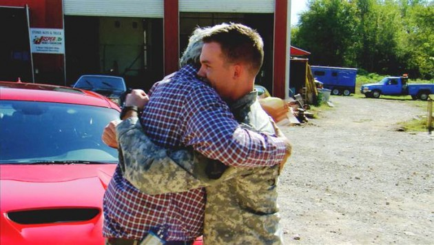 Jay Leno surprises wounded warrior on TODAY Show with new 2015 Dodge SRT Hellcat
