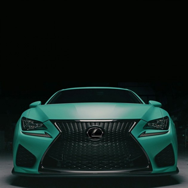 Lexus sema lineup features hotter takes on hot rides the for Accents 3101 salon