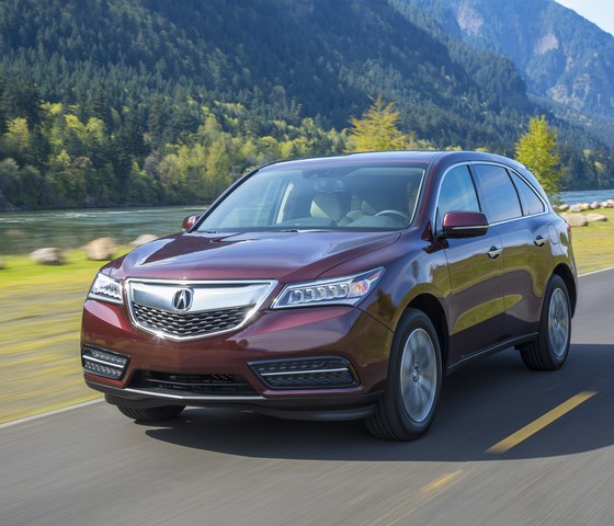 2015 Acura MDX Wins KBB Best Buy Luxury SUV Award