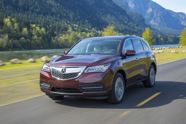 2015 Acura MDX Wins KBB Best Buy Luxury SUV