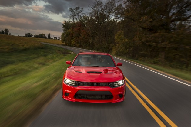 Fiat Chrysler Automobiles at the 2015 New York International Auto Show: 2015 Dodge Charger SRT Hellcat