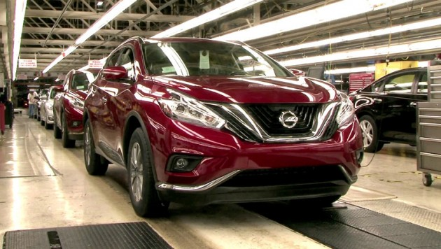 2015 Murano Production Underway 1