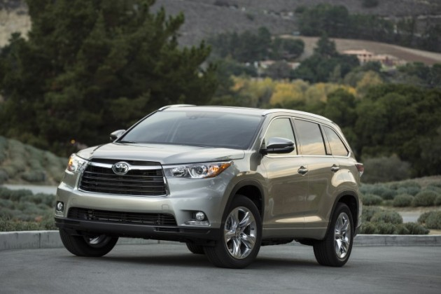2015 Toyota Highlander helps Toyota January sales