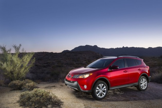 2015 Toyota RAV4 helps Toyota January sales