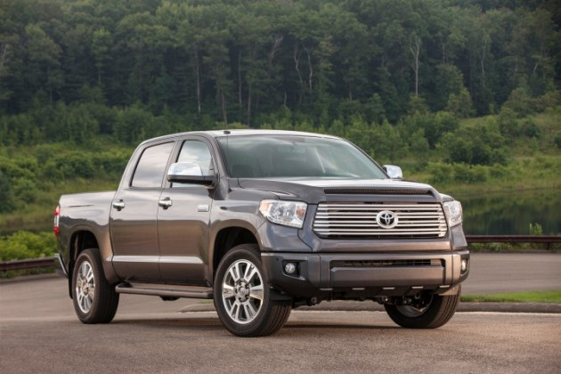 Toyota donates Tundra trucks to fire departments