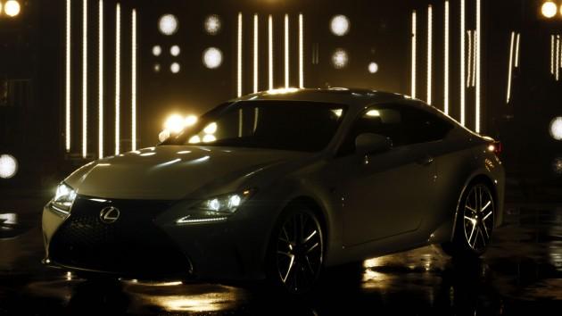 2015 Lexus RC Ads