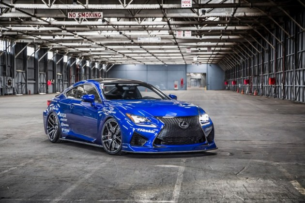 Lexus SEMA Lineup: 2015 Lexus RC F by Gordon Ting and Beyond Marketing