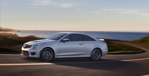 2016 Cadillac ATS-V Coupe | ATS-V Burnout
