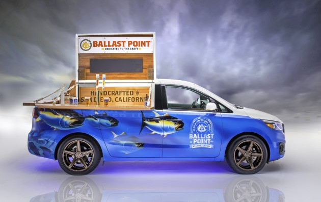 Kia at SEMA: 2014 SEMA Show Ballast Point Sedona SX Limited