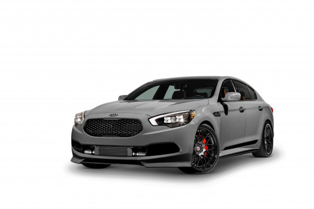 Kia at SEMA: High-Performance K900