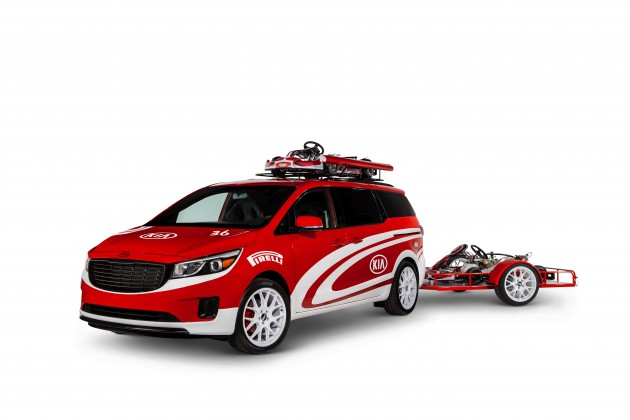 Kia at SEMA: Ultimate Karting Sedona
