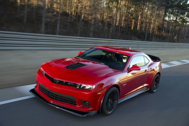 AUTOMOBILE Names 2015 Camaro Z28 an All-Star