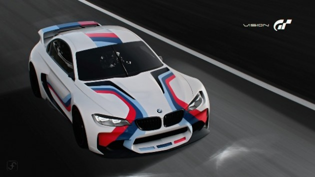 BMW M4 Safety Car in Gran Turismo 6 Ferino Design