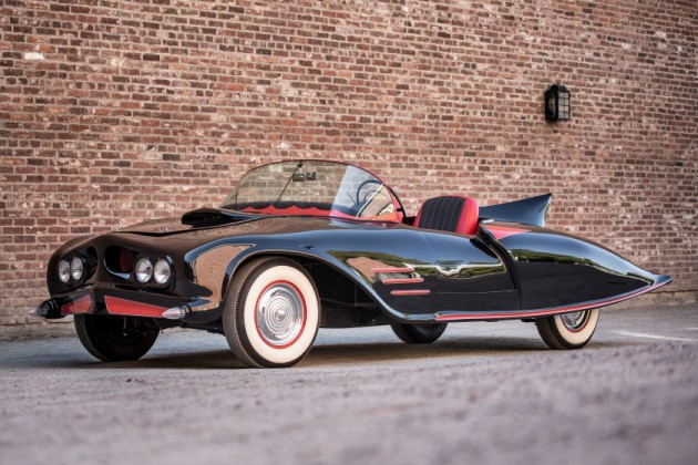 Batmobile Auction 1956 Oldsmobile DC-licensed Batmobile Being Auctioned