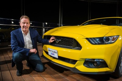 2015 Mustang Arrives in Middle East and Africa