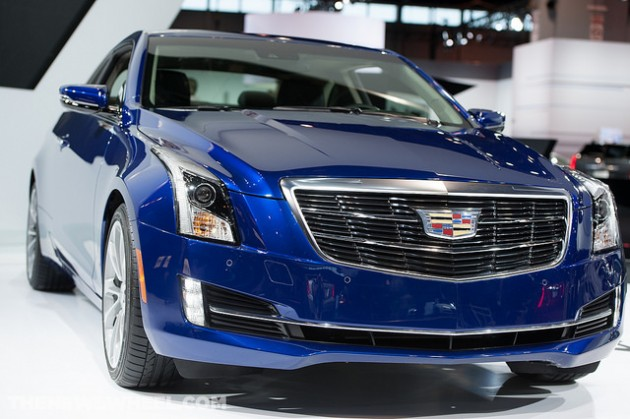 Cadillac's IntelliBeam system is available on the 2015 Cadillac ATS Coupe.