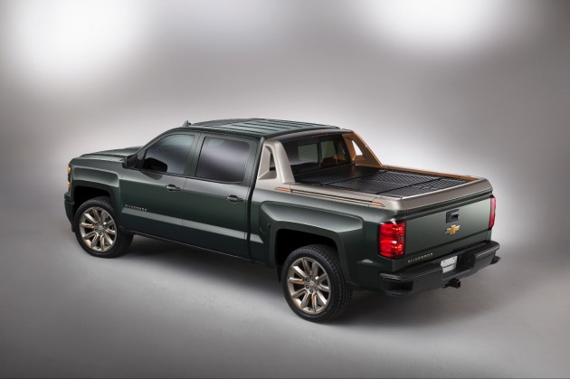 Chevy's Truck and SUV SEMA Concepts: Silverado High Desert Concept