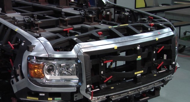 Engineers did extensive testing to ensure that GMC Canyon and Chevy Colorado body structures were made perfectly, with all pieces lining up