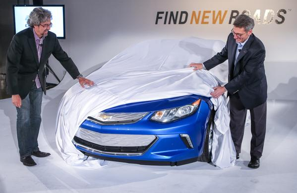 Next-Gen Chevy Volt Design