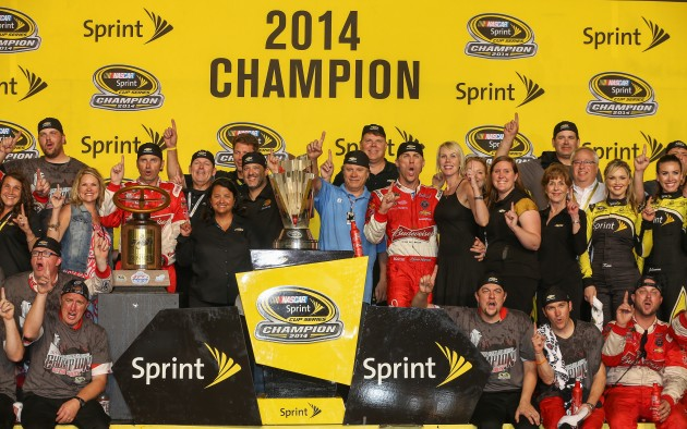 Chevy Wins 2014 NASCAR Sprint Cup Series Manufacturer's Championship