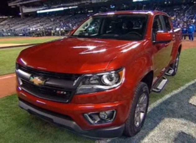 Madison Bumgarner's Chevy Colorado