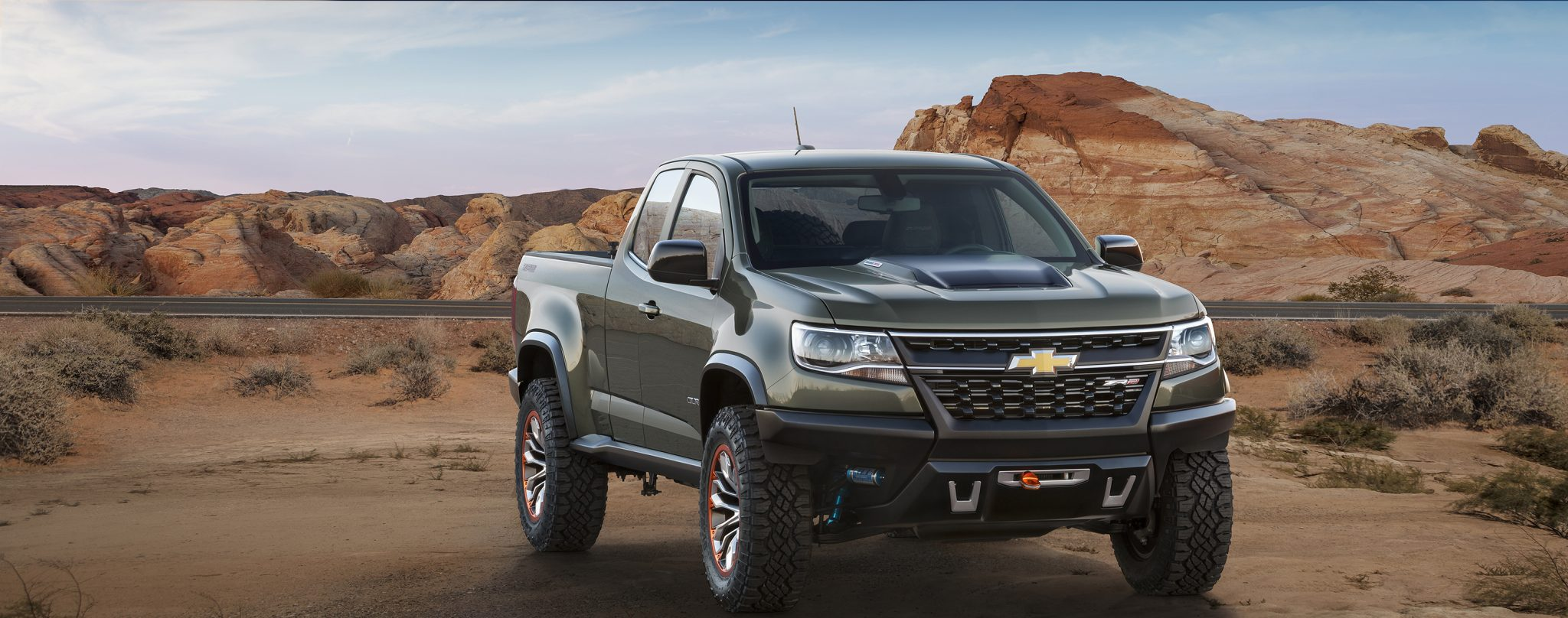 Colorado ZR2 Concept Could Be Chevy s Answer to the F 150 SVT Raptor