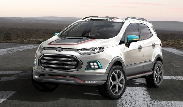 Raptor Inspired Ford Ecosport Storm Is A Clever Girl The