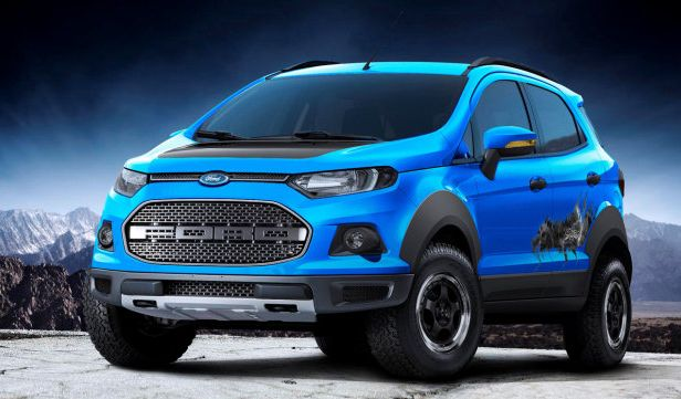 Raptor-Inspired Ford EcoSport Storm is a Clever Girl - The News Wheel
