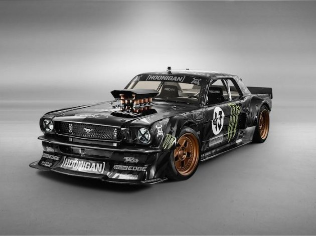 hoonicorn rtr ken block 39 s gymkhana 7 mustang wins sema the news wheel. Black Bedroom Furniture Sets. Home Design Ideas