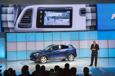 The 2016 Honda HR-V debuts at LA Auto Show