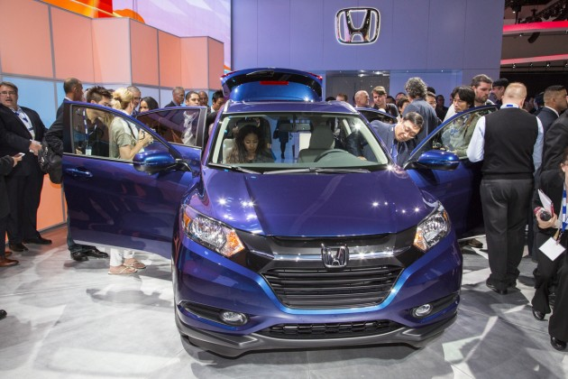 2016 Honda HR-V Debuts at LA Auto Show