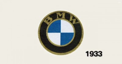 History of the BMW Logo Originate old 1933