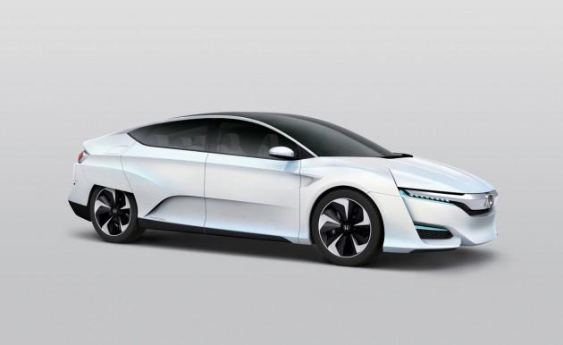 Honda FCV American Debut Set for Next Month's Detroit Auto Show