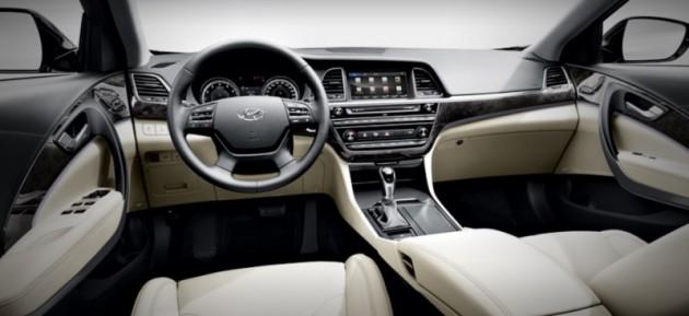 Hyundai Aslan Availability Launch in Korea-interior
