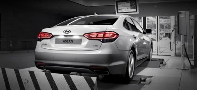 Hyundai Aslan Availability Launch in Korea-rear