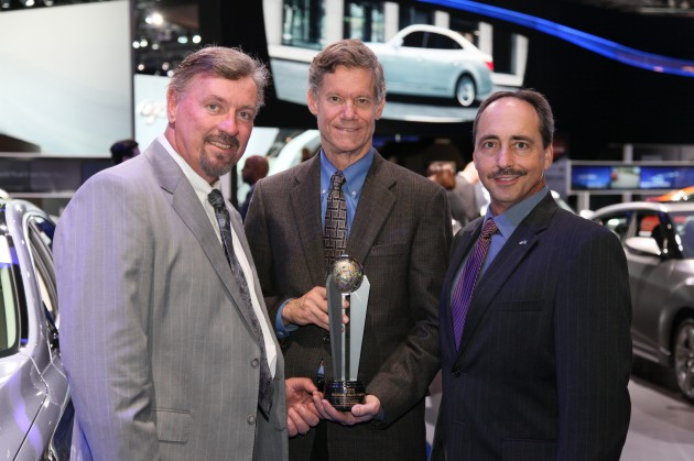 Hyundai Showcases Awards at LA Auto Show