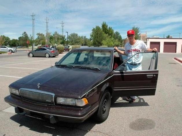 Joc Pederson's 1994 Buick Century