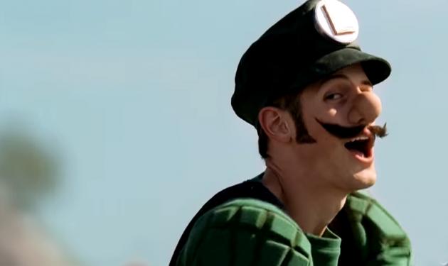 Weird Mario Mercedes Commercial