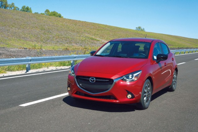 Mazda2 Thailand's First Diesel Car Red exterior Good design award