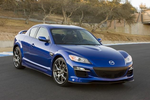 Mazda 2009 Mazda's RX Series Blue