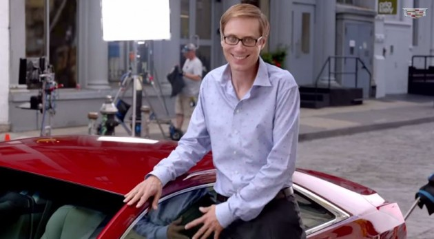 Stephen Merchant Returns for More ATS Coupe Commercial