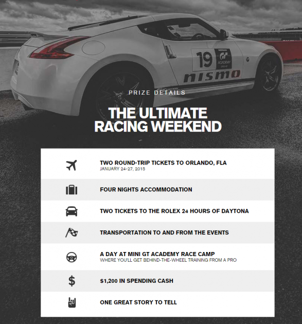 Mini GT Academy Sweepstakes