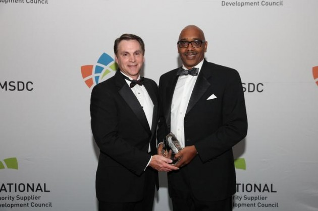 Minority Supplier Company of the Year for 2014