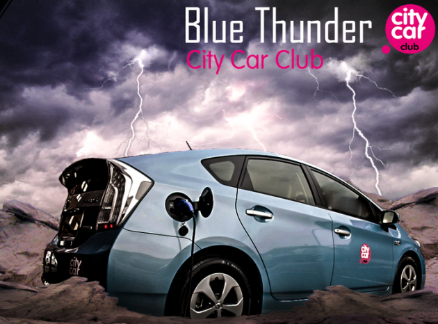 Blue Thunder Prius Plug-In