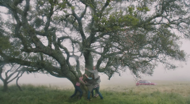 Tree Hugger Subaru Outback Commercial